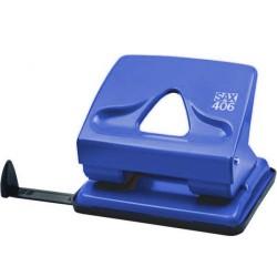 Děrovač SAX 406, 30 listů, modrý