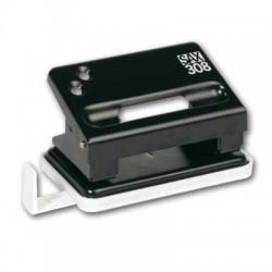 Děrovač SAX 308, 15 listů, černý