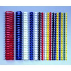 Hřbety pro kroužkovou vazbu 8 mm zelené