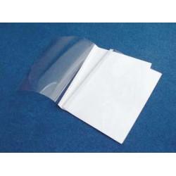 Desky pro termovazbu STANDING, 1,5 mm, čirá/ bílá, 100 ks