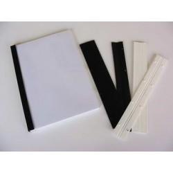 Stiskací pásky pro vazbu, QUICK BIND, 2mm, bílé