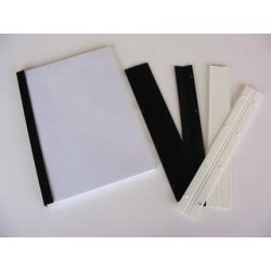 Stiskací pásky pro vazbu, QUICK BIND, 16mm, černé