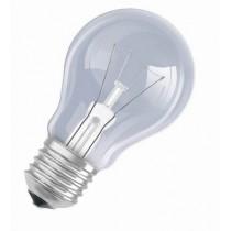Žárovka 75W, 220V, závit E27, čirá