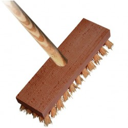 Kartáč podlahový dřevěný s holí 4224/861