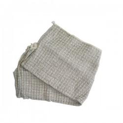 Hadr na podlahu tkaný, 60 x 60 cm, bavlna