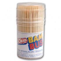 Párátka zubní bambusová, 150 ks v plastové etui