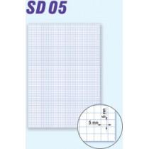 Karton kreslící, A3/200g, čtverečky
