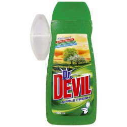 Dr. Devil Apple WC Gel 400ml, tekutý závěs do WC
