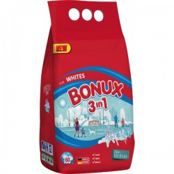 Bonux 4,5 kg, prací prostředek na bílé prádlo