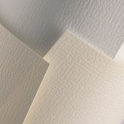 Ozdobný papír Rustikal bílý 230g, 20ks