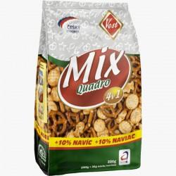 Sušenky Quadro - slaný mix, 200g