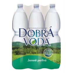 Dobrá voda jemně perlivá 6x1,5l