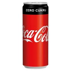 Coca Cola Zero, 24 x 250 ml, plech