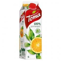 Toma pomeranč, 100%, 12 x 1 l